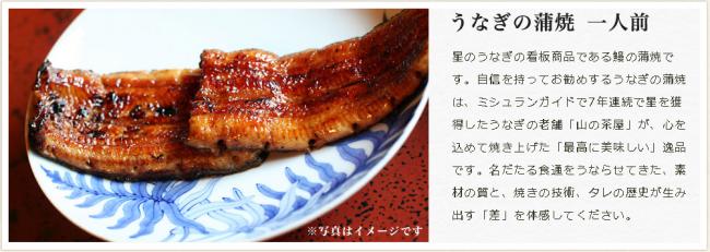 星の鰻「うなぎ三昧セット」/1人前7,350円(税込)