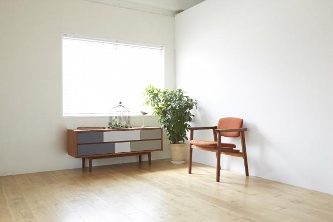 好きな家具やものに囲まれて暮らす