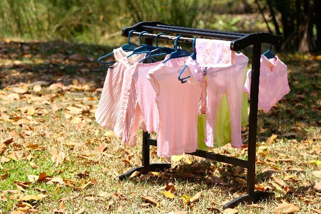 洗濯物はたたまない