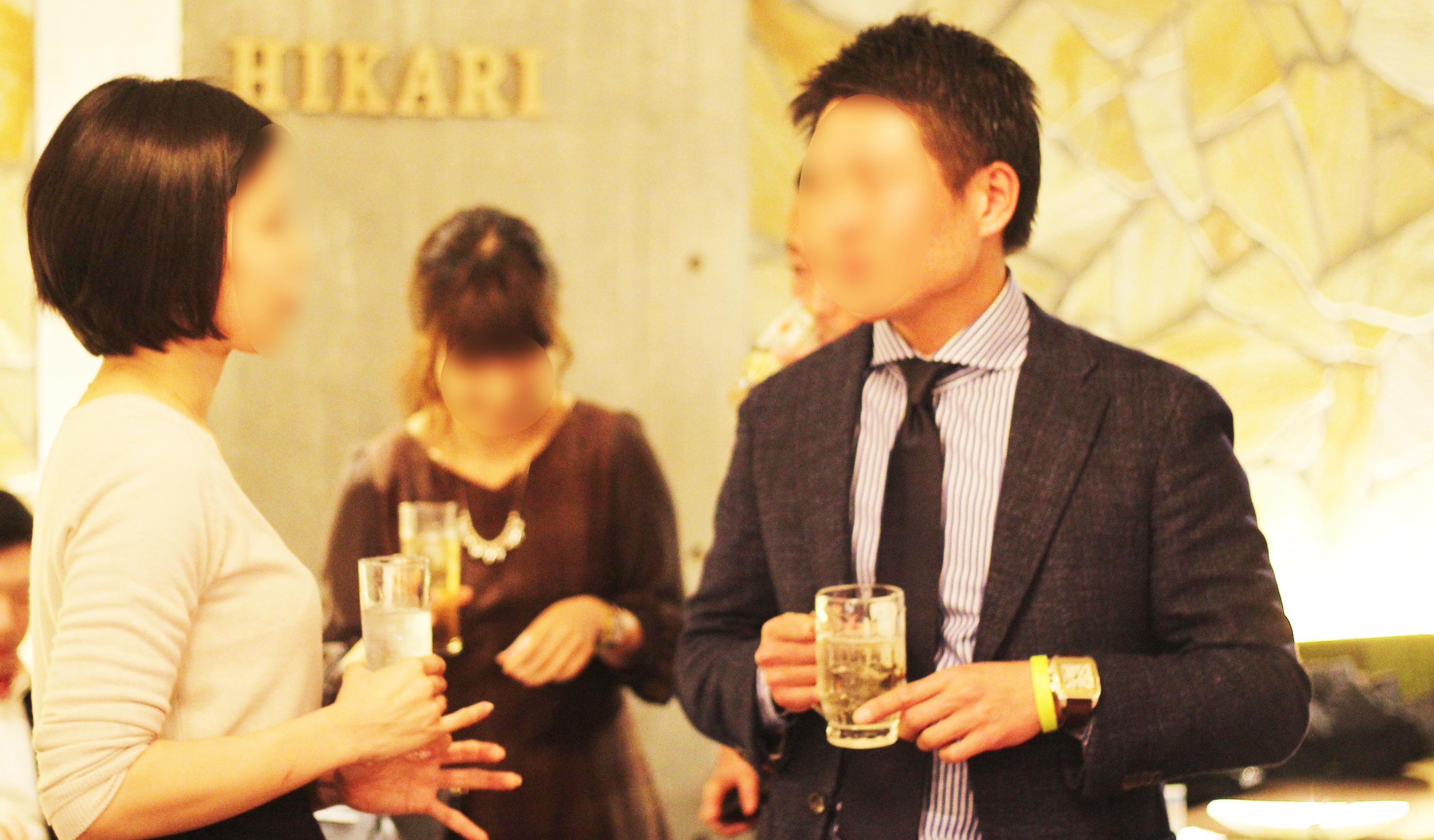 【京都】 烏丸御池にて恋活・婚活 立食パーティー★メダルのような『HIKARI』を求めて…♡♡ サブ画像3