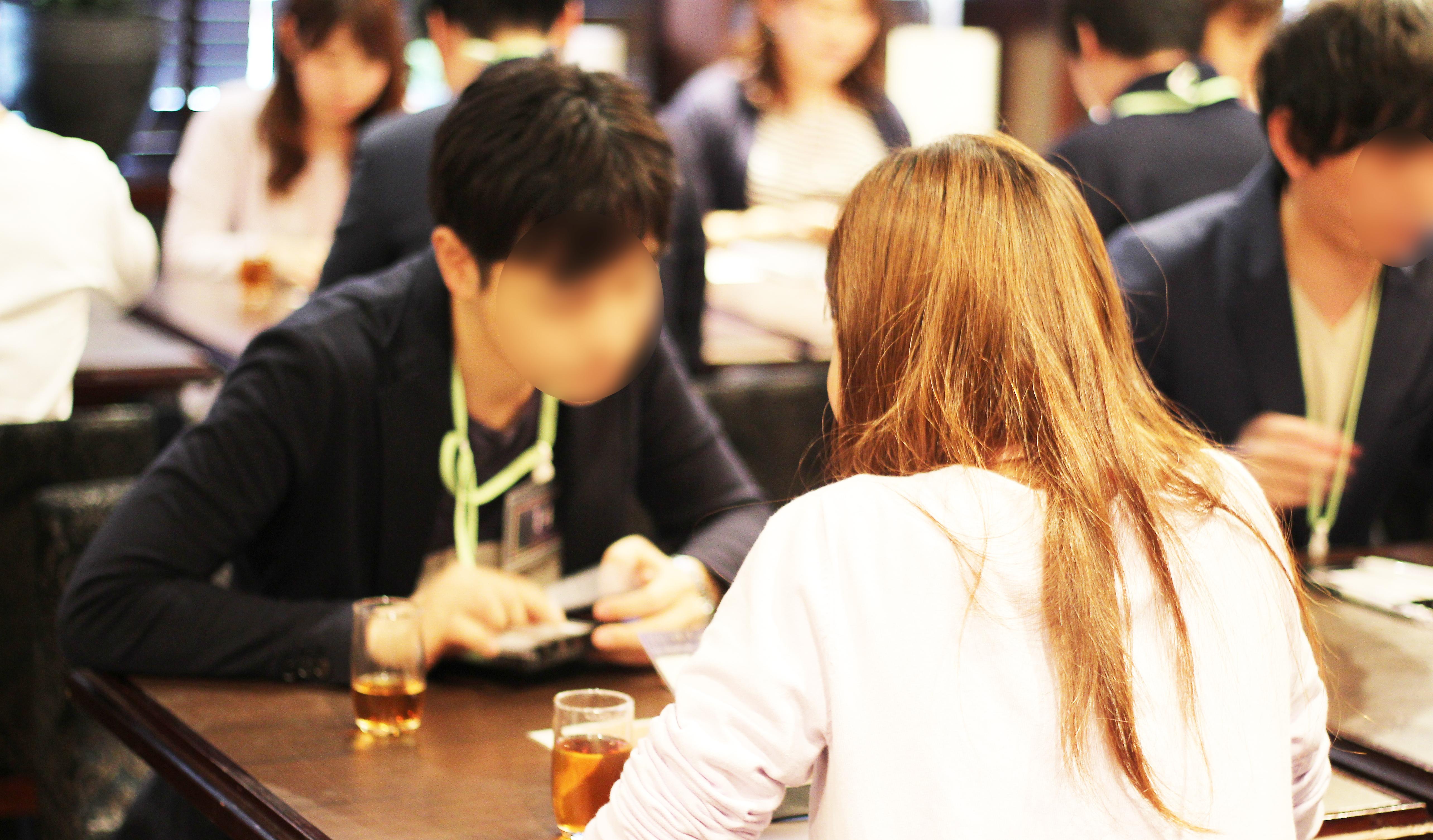 【大阪】GW中の着席パーティーは梅田のKIZASHI DOJIMAにて♪ラグジュアリーな会場で、お一人お一人と上質な出会いを…♪ サブ画像1