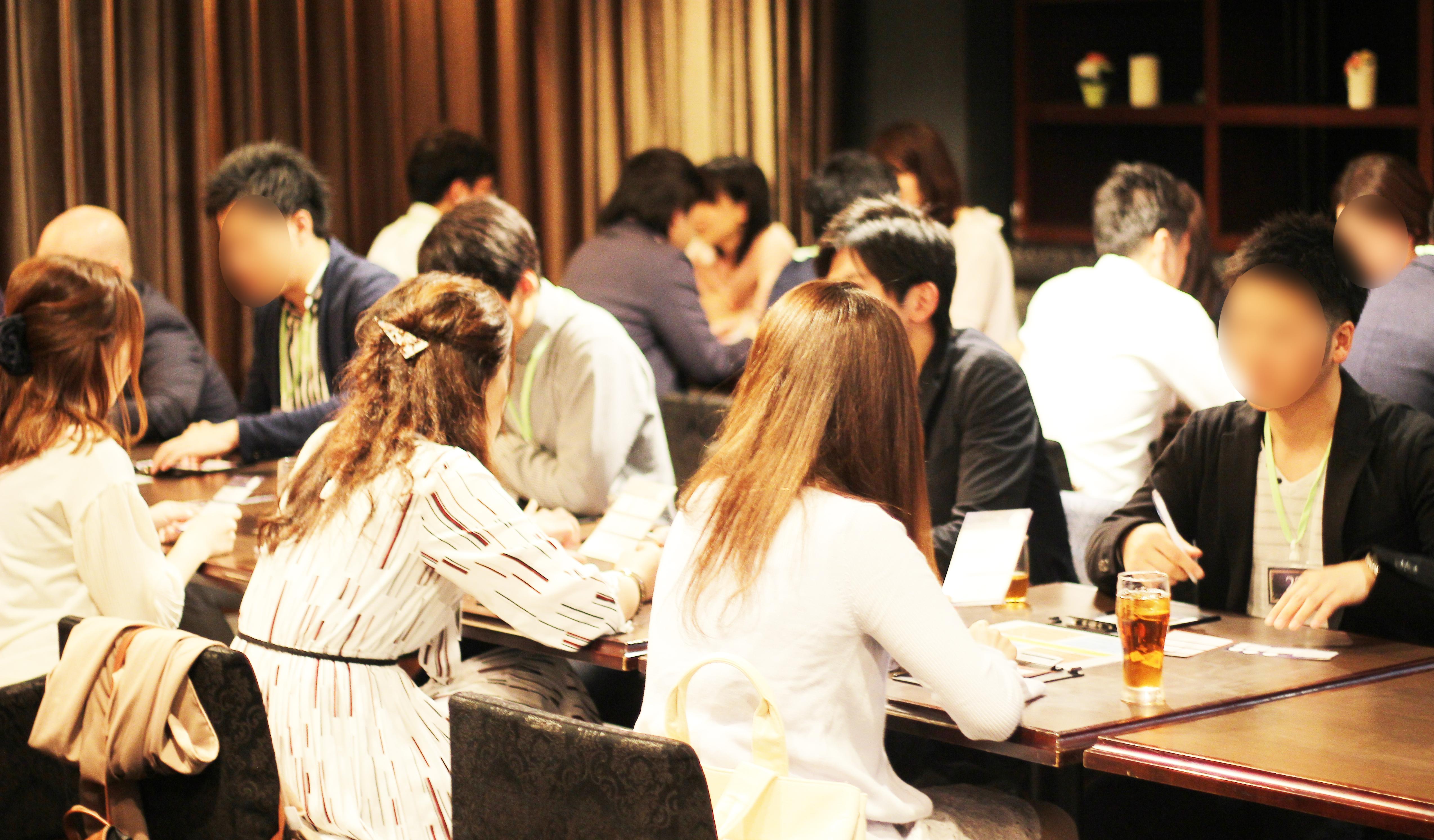 【大阪】GW中の着席パーティーは梅田のKIZASHI DOJIMAにて♪ラグジュアリーな会場で、お一人お一人と上質な出会いを…♪ サブ画像2
