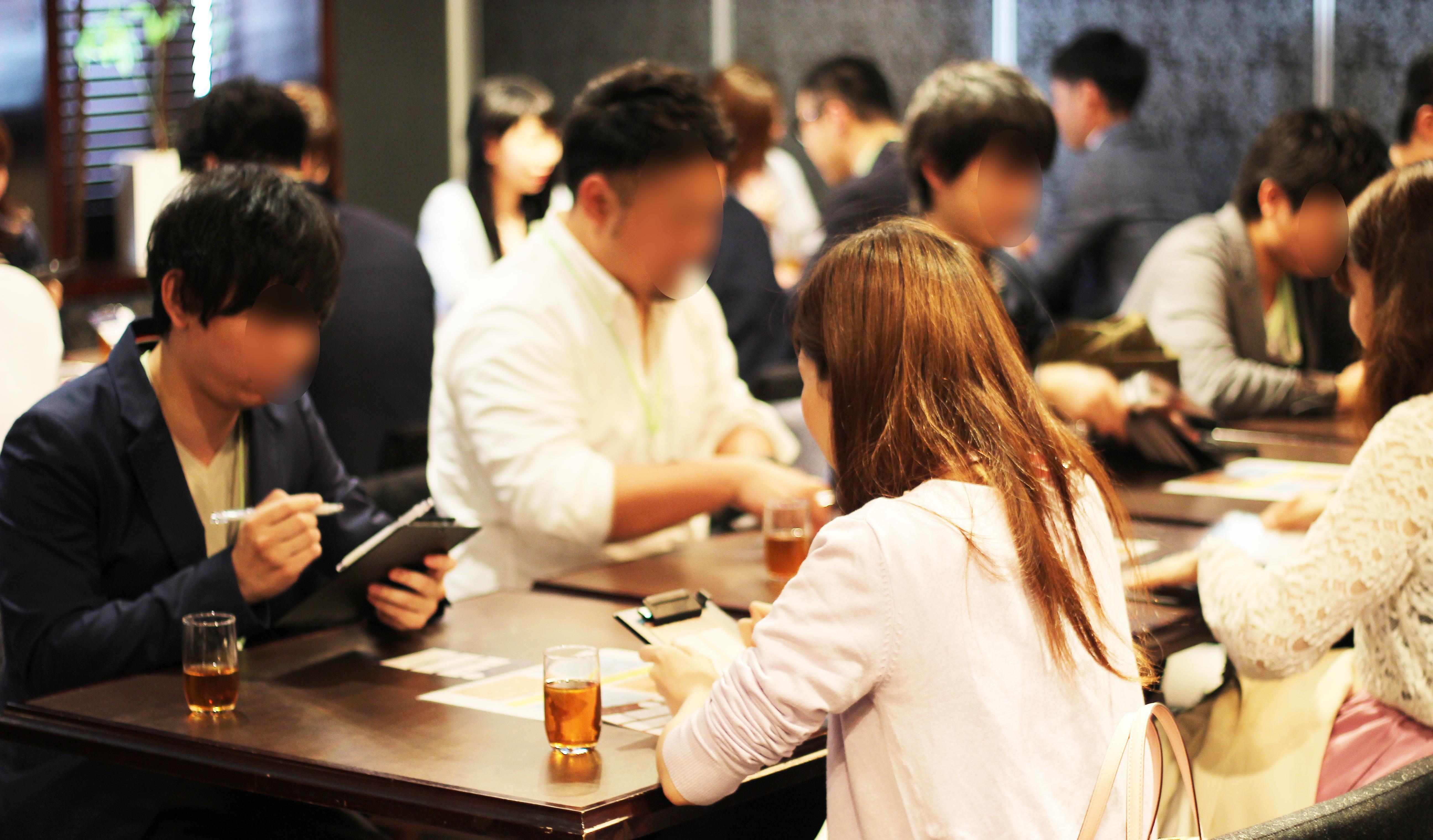 【大阪】GW中の着席パーティーは梅田のKIZASHI DOJIMAにて♪ラグジュアリーな会場で、お一人お一人と上質な出会いを…♪ サブ画像3